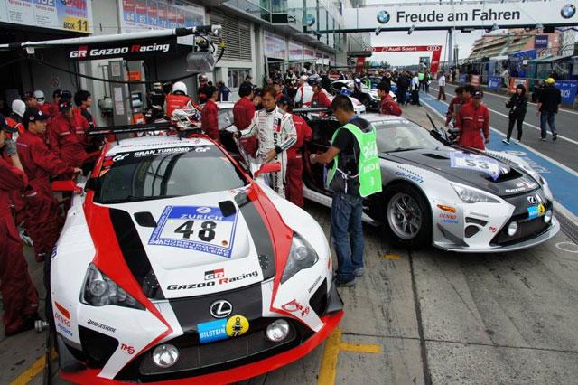 Lexus LFAs Nürburgring 24h