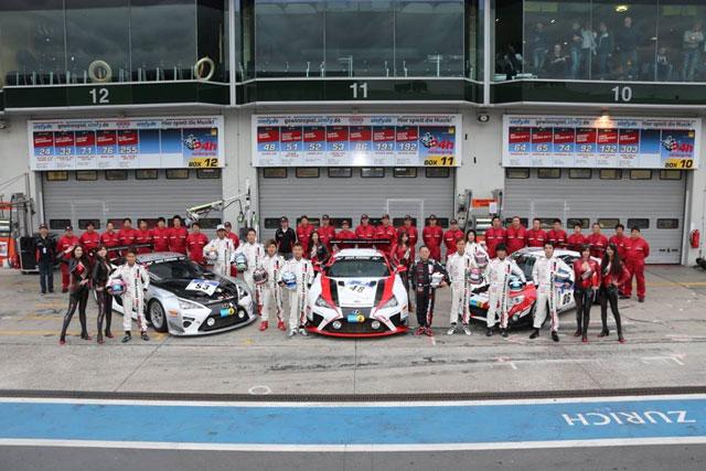 Lexus LFA Teams
