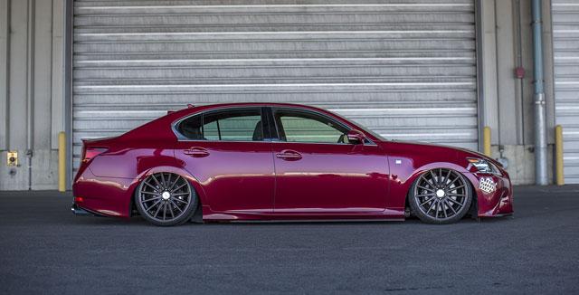 Lexus GS Slammed LEXON