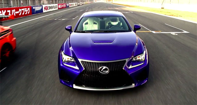 Lexus RC F Goodwood Festival