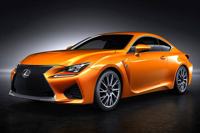 Lexus RC F Solar Flare Orange
