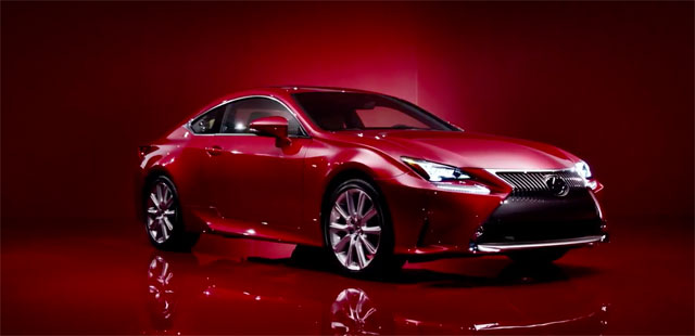 Lexus RC Design Video