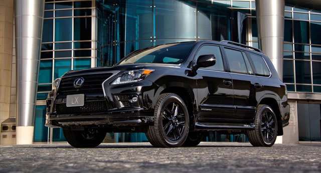 Lexus LX Supercharged 570 Middle East