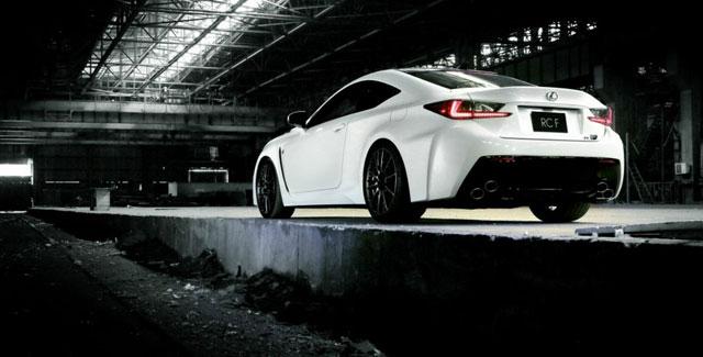 Lexus RC F Ultra White Motorspeed