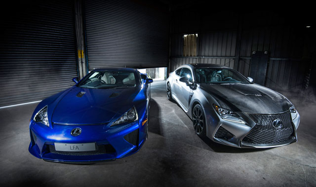 Lexus LFA & Lexus RC F