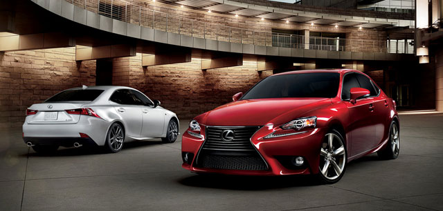 2015 Lexus IS Changes