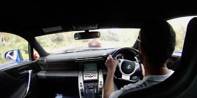 Lexus LFA & McLaren 12C