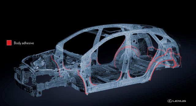 Lexus NX Body Adhesive