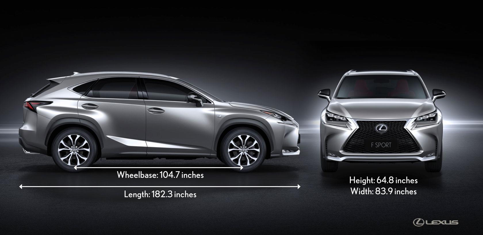 Lexus Nx Measurements