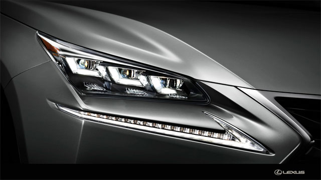Lexus NX Premium LED Headlights