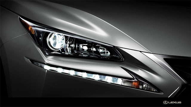 Lexus NX Standard LED Headlights