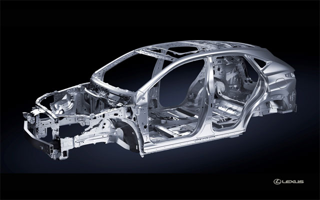 Lexus NX Body Structure