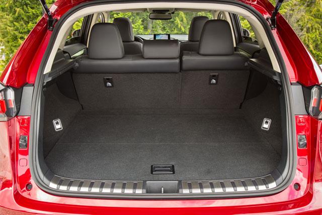 Lexus NX Cargo Area