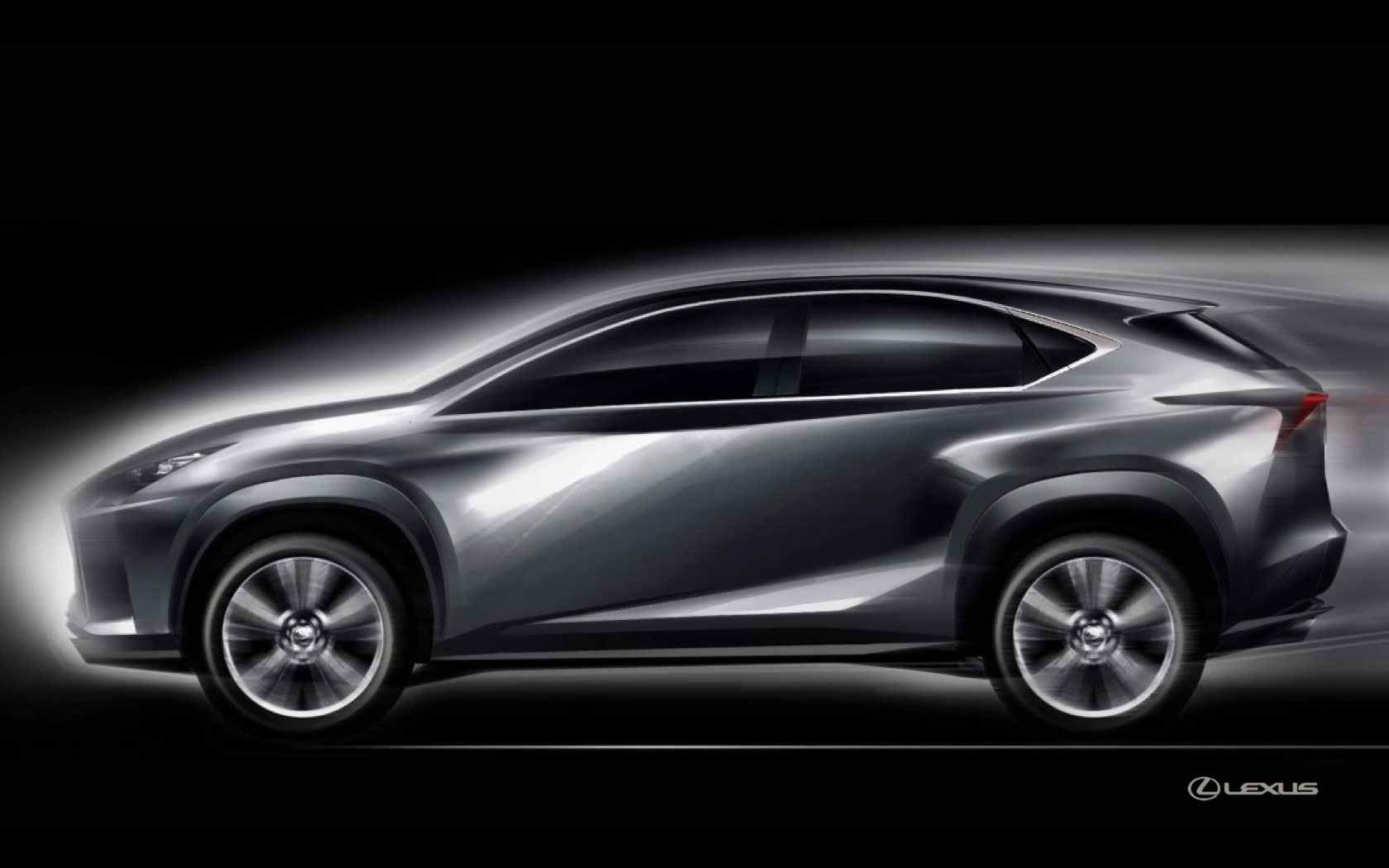 Nice Lexus NX Design Sketch