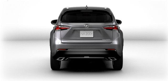 Lexus NX Exterior Rear