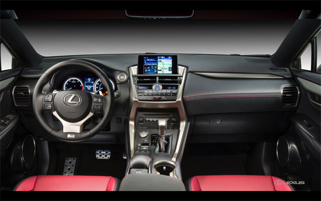 Lexus NX Interior Layout