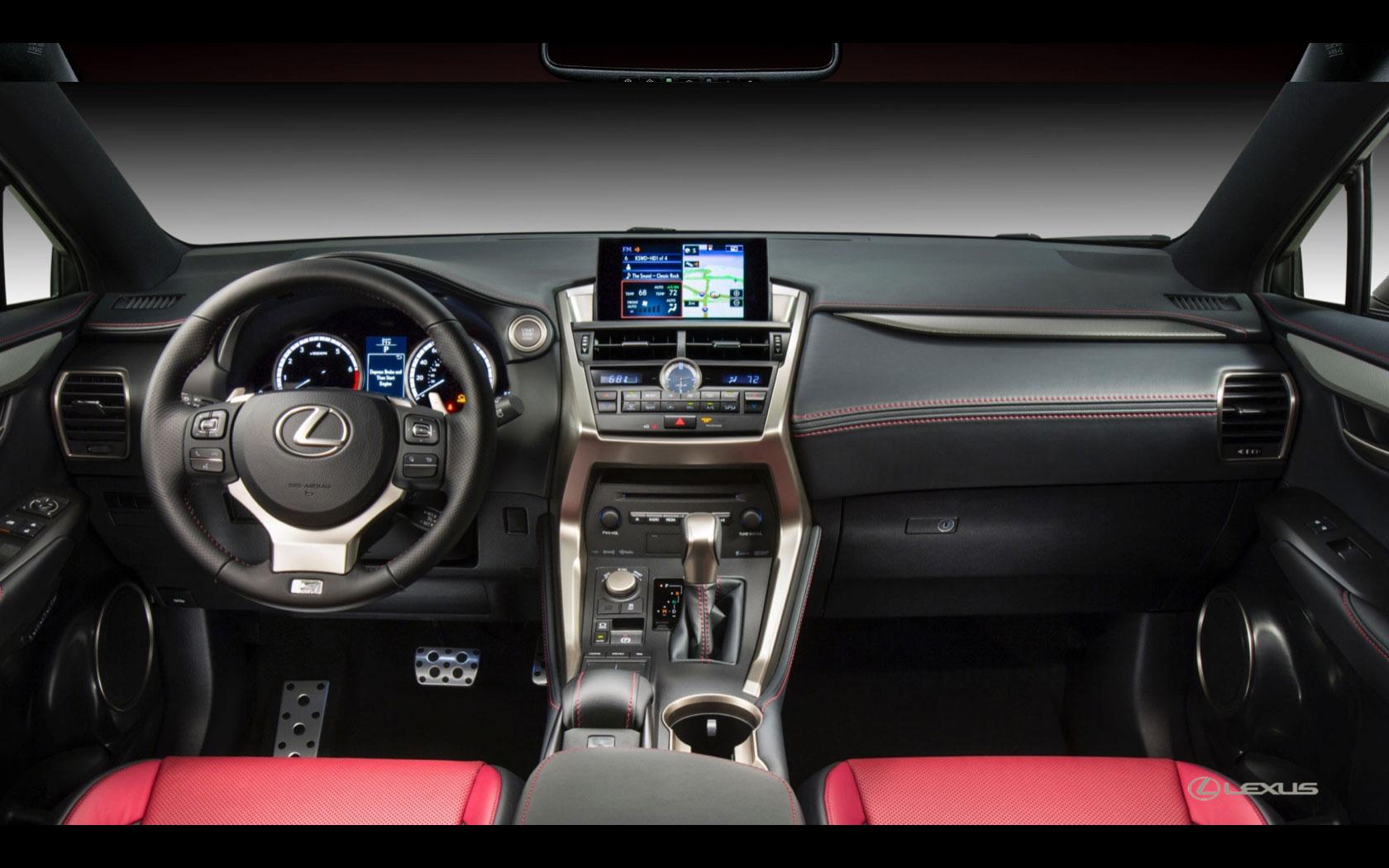Lexus nx200 interior