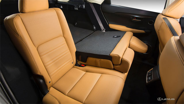 Lexus NX Rear Power Seats