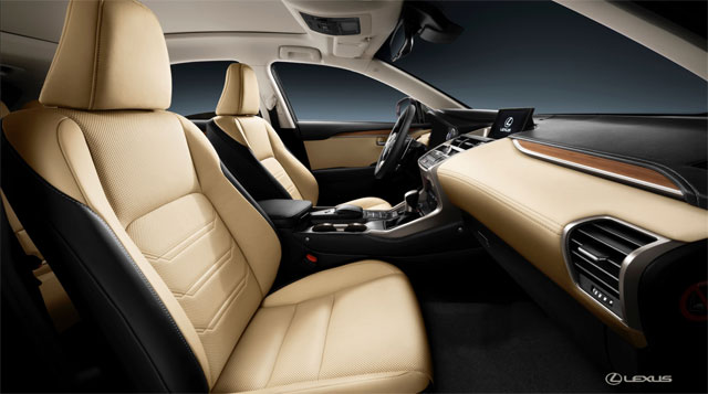 Lexus NX Seating