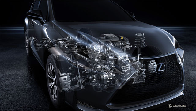 Lexus NX Suspension