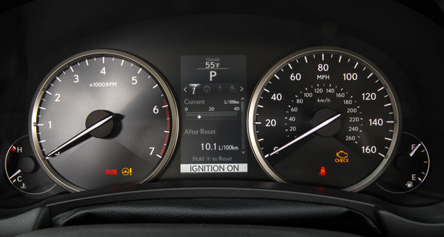 Lexus NX Instrument Panel