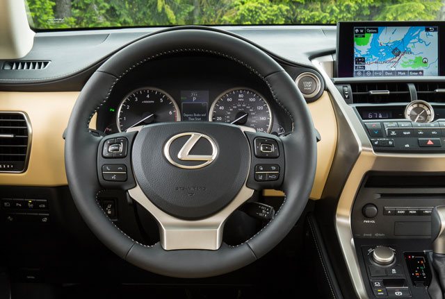 Lexus NX Steering Wheel