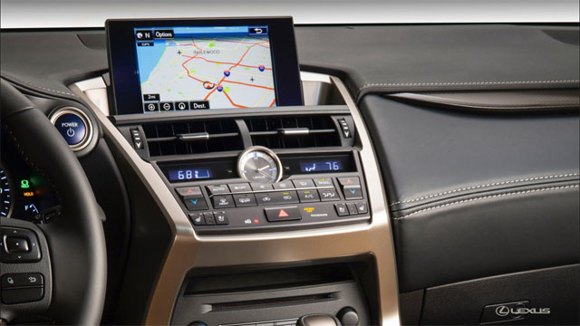 Lexus NX VGA Display