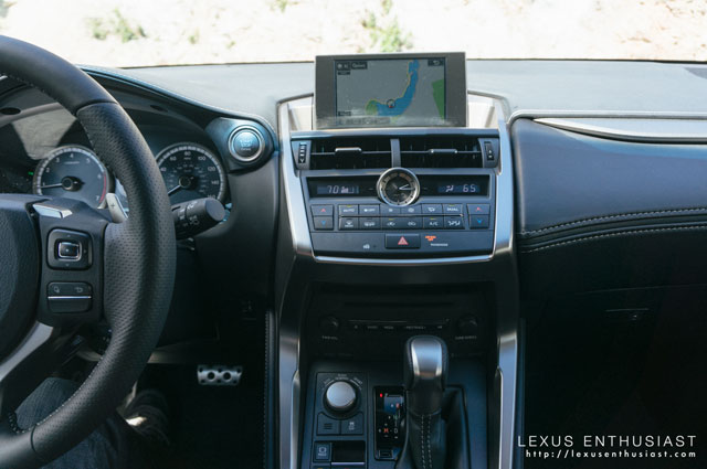 Lexus NX Interior Thoughts