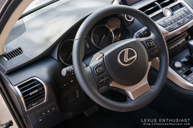Lexus NX Interior Wheel