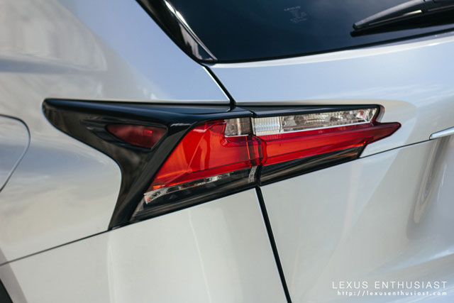 Lexus NX Taillamp Cladding