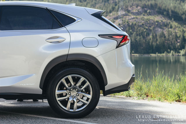 Lexus NX Wheel Well