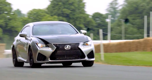 Lexus RC F Goodwood
