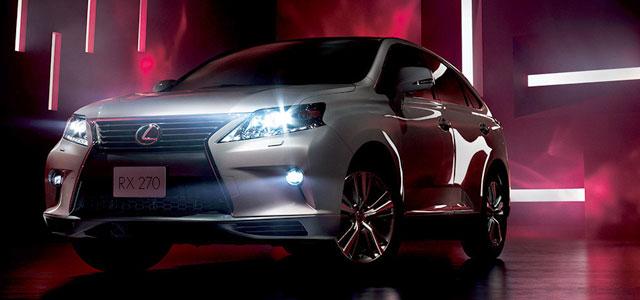 Lexus RX Radiant Aero Style