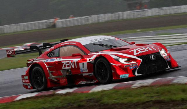 Lexus Super GT Round 4 Zent Cerumo