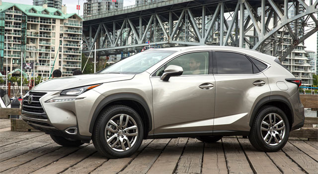Lexus NX North America