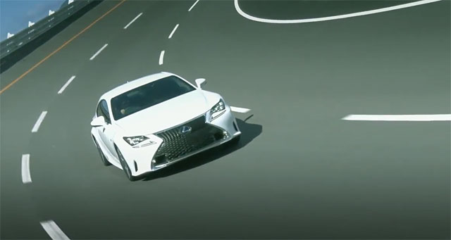 Lexus RC F SPORT Driving Dynamics