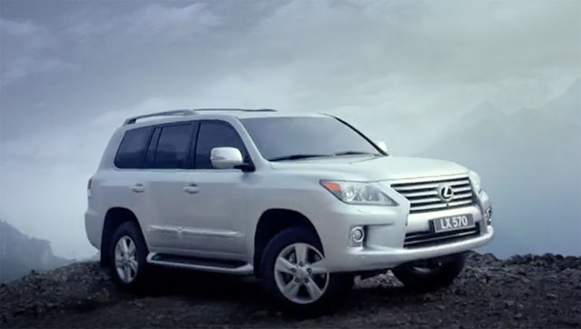 Lexus LX Commercial China