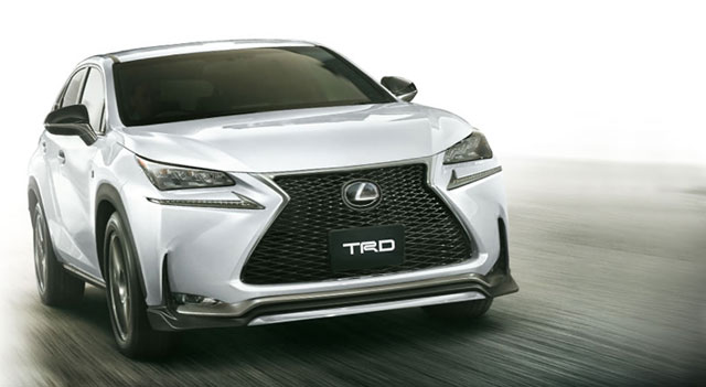 Lexus NX Body Kit TRD Japan