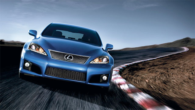 Lexus IS F Final Production Model