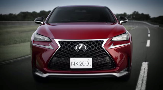 Lexus NX F SPORT Video Japan