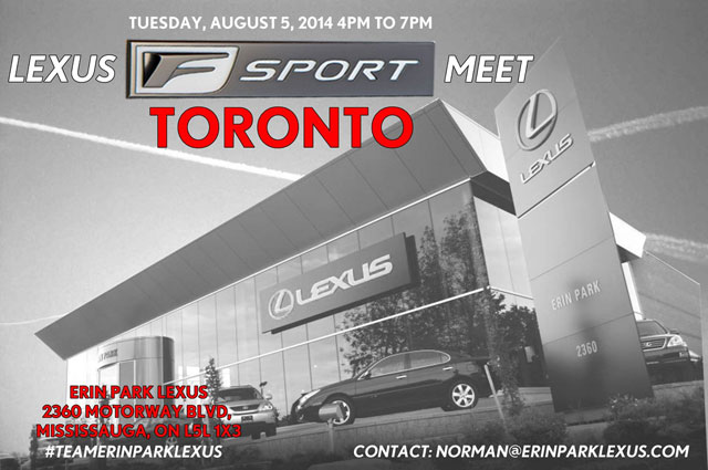 Lexus F SPORT Owners Meet