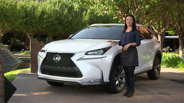 Lexus NX Guided Tour