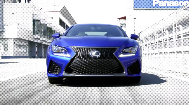 Lexus RC F New Videos