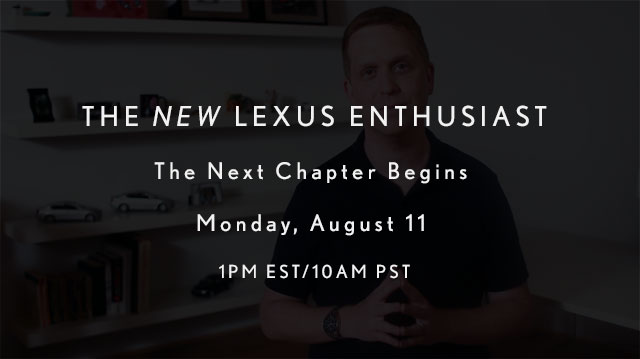 Lexus Enthusiast Teaser