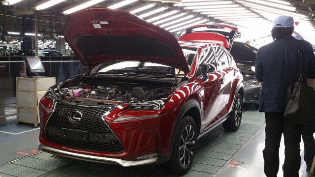 Lexus NX Line-off Ceremony