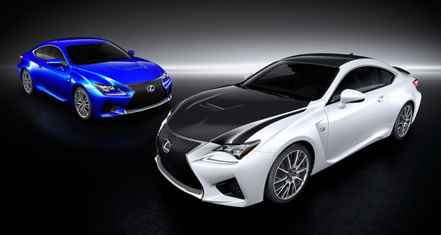 Lexus RC F UK Pricing Information