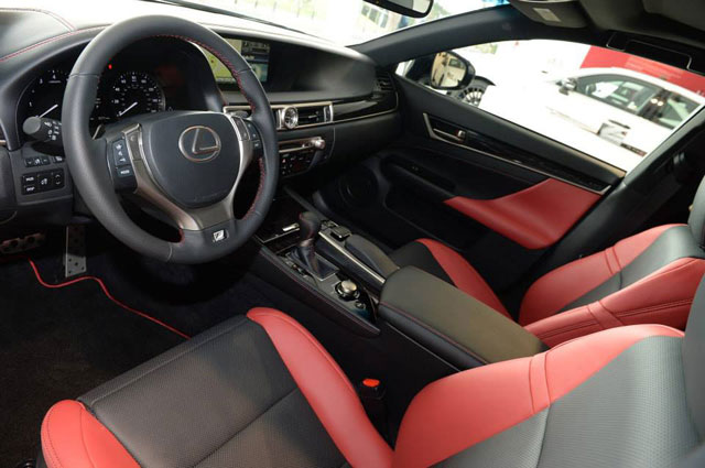 Lexus CRAFTED LINE Interior
