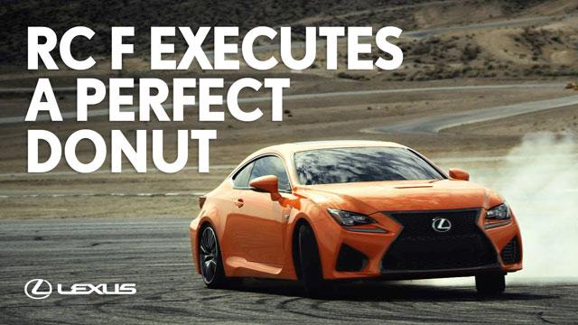 Lexus RC F Donuts