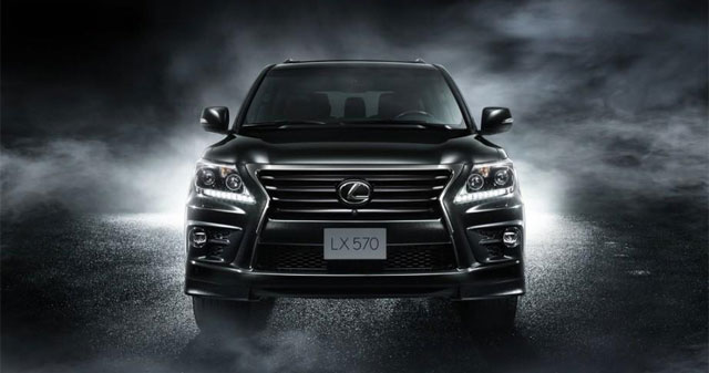 Lexus LX Supercharger