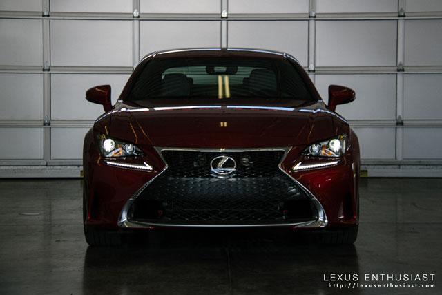 Lexus RC F SPORT Paddock
